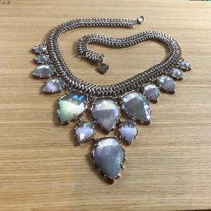 Kendra Scott Iridescent Slate Gretchen Necklace